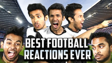 Best Football Reactions Ever | Comedy Asia