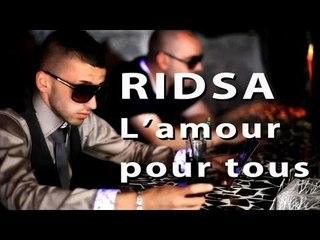 Ridsa Feat Flavie - L'amour Pour Tous ( lyrics)