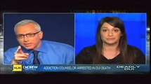 "Author Anna David from ""The Fix"" interviewed on Dr. Drew Pinsky regarding alcoholism and relapse."