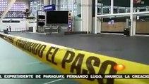 Policías Federales matan 3 Federales en Aeropuerto DF Balacera Terminal 2 Ciudad de México