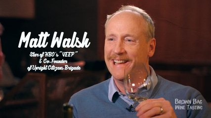 'Veep' Star Matt Walsh Joins William Shatner For Wine And ... Hypnosis?