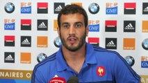 Rugby - CM - Bleus : Maestri «Un côté jouissif»