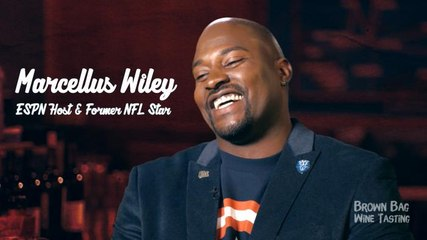 ESPN's Marcellus Wiley Talks Football, Typing and Of Course, Wine