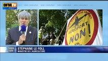 """Notre-Dame-des-Landes: la justice rejette les recours, Le Foll appelle """"au respect"""""""