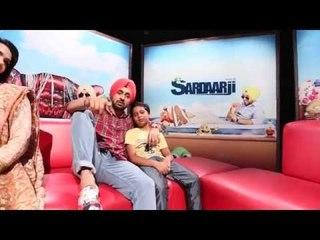 Dljit Dosanjh SardaarJi Chandigarh-Delhi Promotion