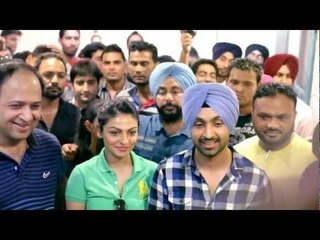 JATT & JULIET Promotion Day 1 In Jalandhar