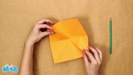 Die Origami-Korb