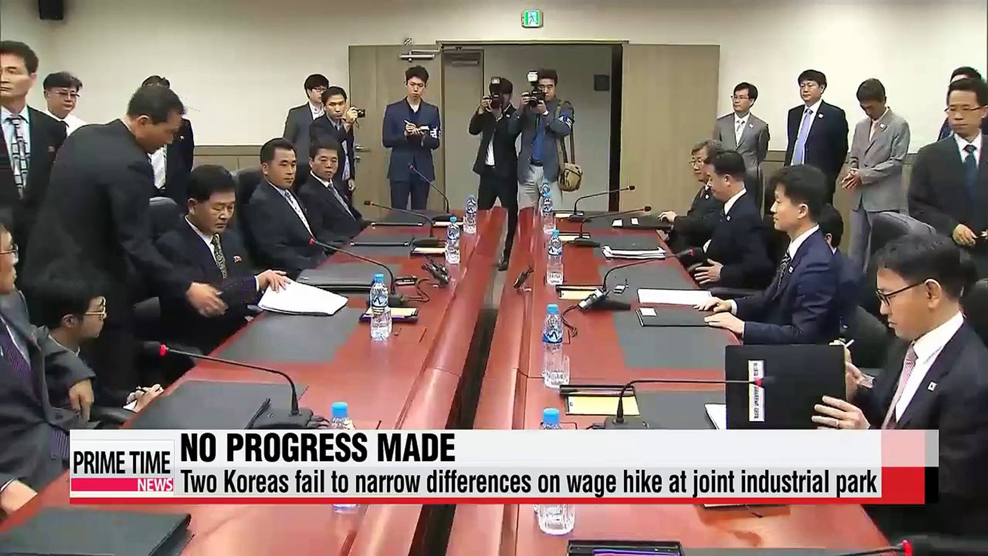 Koreas fail to settle wage hike row at joint factory park