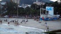 ARPOADOR RIO DE JANEIRO, SUNSET SURF, RIO DE JANEIRO BRAZIL,  OLD DOG TRAVEL TIPS, #