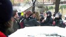 Blockade gegen Naziaufmarsch am 13. Februar