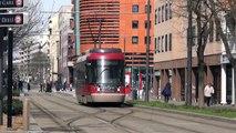 Trams in Lyon and Marseille  March 2013 - Les Trams Lyonnais TCL et Marseillais RTM