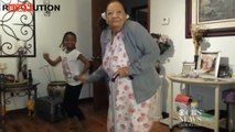 Funny 97-Year-Old Busts a Move With Great-Granddaughter