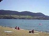 Okanagan Lake, Kin Beach -- Vernon, B.C.