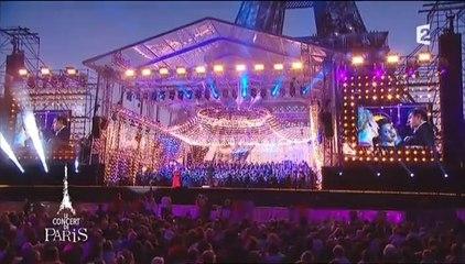 CONCERT DE PARIS TOUR EIFFEL 14 JUILLET 2015