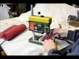 How to drill Glass for fun or profit instructional tutorial drill stained glass, beach glass