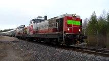 Night train 272/ Pikajuna 272. 27/04/14 Nice sound!
