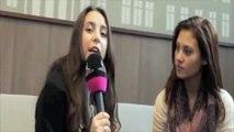 Vanessa Krasniqi (DSDS)  Interview mit Samira Frassa (Dance24.tv) - Witzige Outtakes