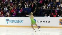 Finlandia Trophy 2012 Espoo 6.10.2012 Ladies Short Program Kiira Korpi FIN