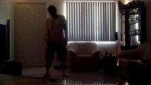 Michael Jackson Style Dancing (short clip)