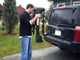 Thule Vertex 4 Bike Trailer Hitch Receiver Bicycle Racks and Carriers 9029 Installation Video