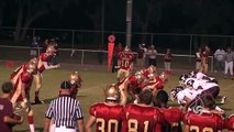 Football Tarpon Springs Spongers Vs Hudson Cobras 10-30-09