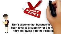 Better Prices from Suppliers | Cost Saving Purchasing Tips