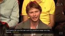 Socialist Alternative Vs Christopher Pyne 5/05/2014 ABC