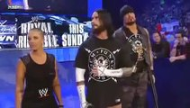 "WWE TRIPLE H MAKES FUN OF ""STRAIGHT EDGE SOCIETY"" ON SMACKDOWN 29/1/10"