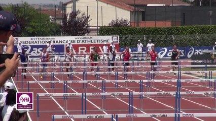 Finale 110 m haies Juniors