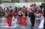 Roi Mohamed 6 en Côte d'Ivoire 2014 وصول الملك محمد السادس ابيدجان