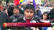 Estudiantes chilenos rechazan reformas del Gobierno