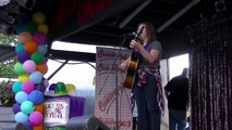 12 yr old Mya Kilpatrick plays 'Travelin' Soldier' by Dixie Chicks during Alpine Country Star 2015