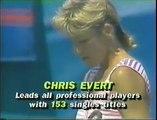 Chris Evert d. Martina Navratilova - 1988 Houston final