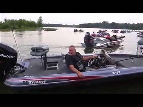 Bass Fishing Woody Aigie Woodard Bass Tournament   2012 Blast Off  Fate Sanders Marina