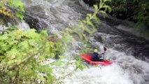 """Extreme Kayaking """"Close Calls"""" Nantahala River"""