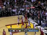 Dwyane Wade to LeBron James Alley-Oop Dunk Miami Heat vs New Jersey Nets 11.6.2010