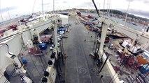 LAUNCHING S/Y AGLAIA IN STP SHIPYARD PALMA