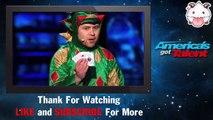 America's Got Talent 2015 ♥ Piff the Magic Dragon  Comedic Magician Kisses Heidi Klum