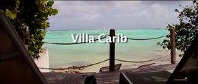 Villla Carib Guadeloupe, les pieds dans l'eau,Nos Villas de luxe filmées par des drones au dessus du Lagon de Guadeloupe