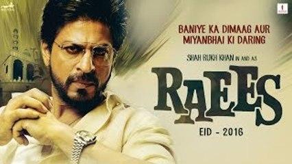 Raees - HD Hindi Movie Teaser Trailer [2016] - Shah Rukh Khan - Mahira Khan