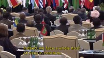 Prime Minister Abe attends the Asian-African Summit 2015