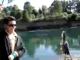 pesca rio san pedro valdivia ( chile )
