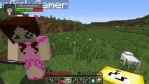 PopularMMOs with Jen Minecraft  BUGS TROLLING GAMES   Lucky Block Mod   Modded Mini Game Pat and Jen