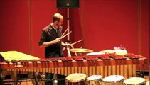 Grab It! for percussion solo and boombox by JacobTV Performed by Brad Meyer