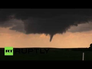 Huge tornado touches down in Texas, damages gas drilling rig