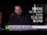 Spanish Shift: Minor parties shine, ruling PP fades, 'two-party system dying'