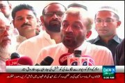 Farooq Sattar talk after Eid Prayer: Convey Eid Wishes to Prime Minister, Chief Minister, Chief of Army Staff