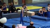 boys Level 6 states - Gymnastics Floor - Pommel Horse - Rings - Vault - Parallel Bars - High Bar