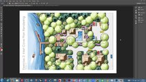 Plan Rendering in Color Using Photoshop - Tutorial 1: Layer Setup