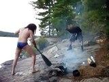 Headbanging While Making Fire  (WOAH-OH-OH-AH-AH-AH-AAAA-HA-AH-AH-AH Edition)